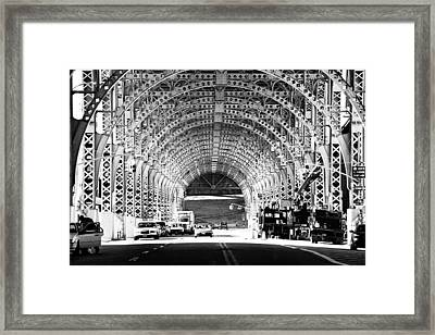 Under The West Side Highway Framed Print