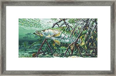 Undercover In0022 Framed Print by Carey Chen