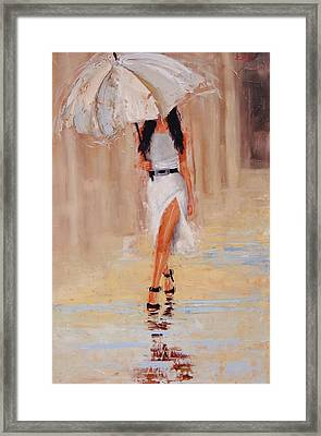 Undercover Framed Print by Laura Lee Zanghetti