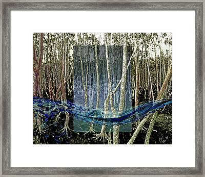 Undercurrent Framed Print by Maria Jesus Hernandez