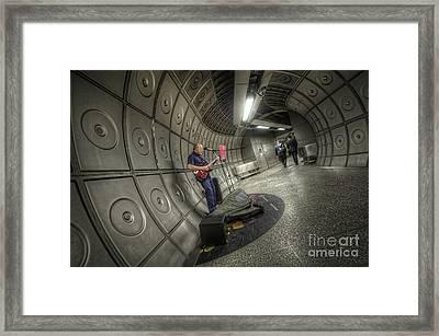 Underground Blues Framed Print by Yhun Suarez