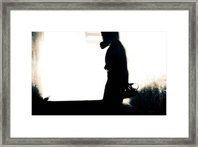 Underground Framed Print by Bob Orsillo