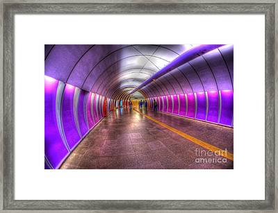 Underground Colors Framed Print by Will Cardoso