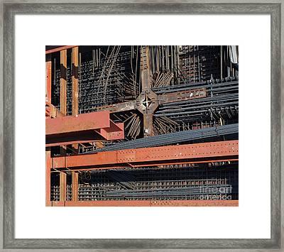 Underground Construction Site Framed Print