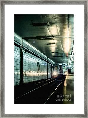 Underground Framed Print by Diane Diederich
