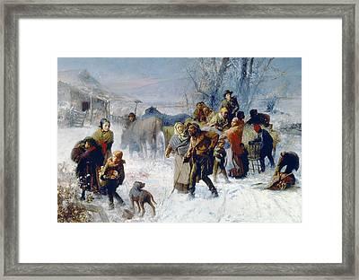 Underground Railroad Framed Print by Granger