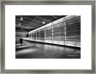 Underground Framed Print by Rod McLean