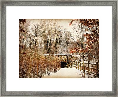 Underhill Crossing Framed Print