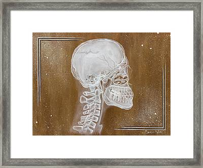 Underneath Framed Print by Brent Buss