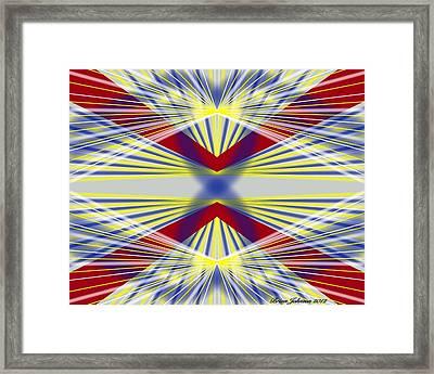 Underneath Framed Print by Brian Johnson
