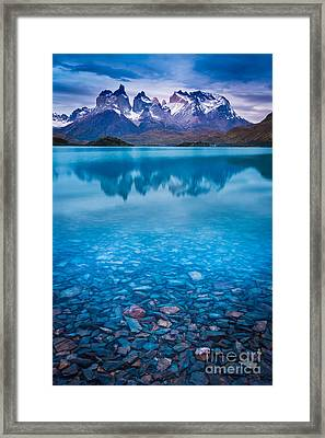 Underneath The Surface Framed Print by Inge Johnsson