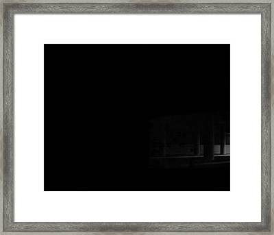 Underpass Framed Print by Alfredo Martinez