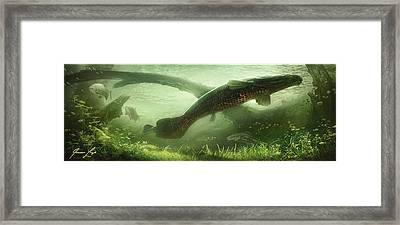 Underpass Framed Print by Javier Lazo