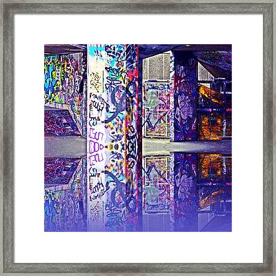Underpass Framed Print by Sharon Lisa Clarke