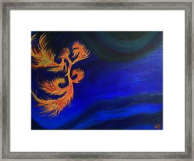 Undersea 1 Framed Print by Robert Nickologianis