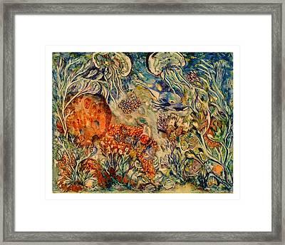 Undersea Friends Framed Print