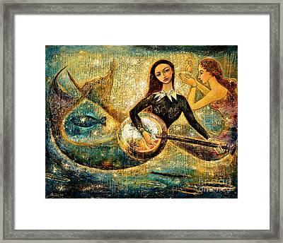 Undersea Framed Print by Shijun Munns