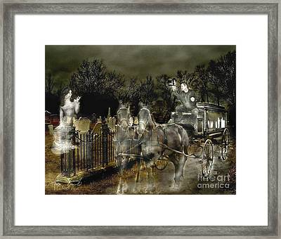 Undertaker Framed Print by Tom Straub