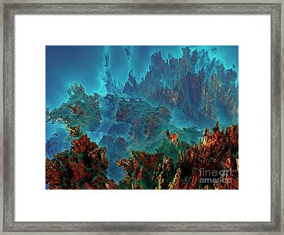 Underwater 11 Framed Print by Bernard MICHEL