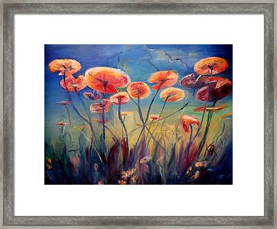Underwater Ballet Framed Print by Art by Kar