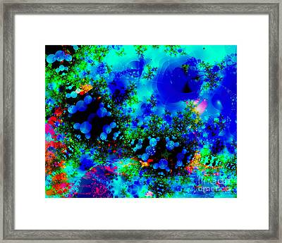 Underwater Framed Print by Hai Pham