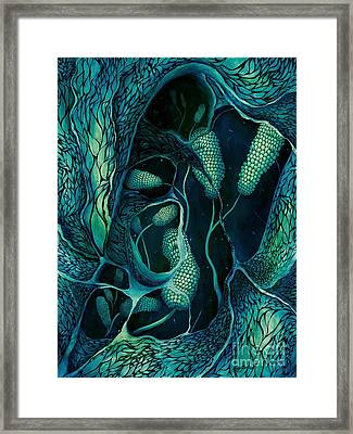 Underwater Revelation Framed Print