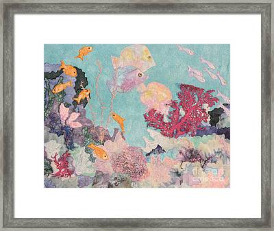 Underwater Splendor Framed Print
