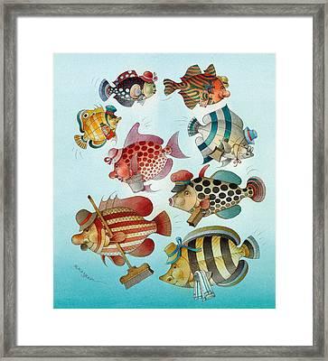 Underwater Story 01 Framed Print by Kestutis Kasparavicius