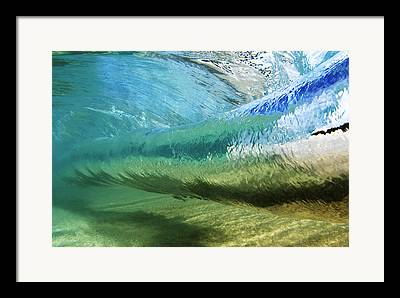 Waves Energy Framed Prints