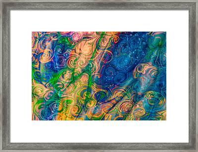 Underwater Whimsy Framed Print