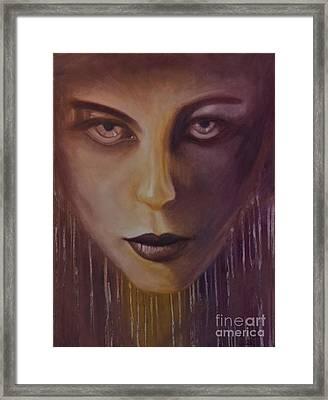 Underworld Framed Print by Juliet Sarah Marx