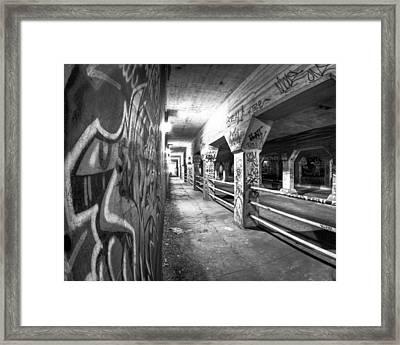 Underworld - The Krog Street Tunnel Framed Print by Mark E Tisdale