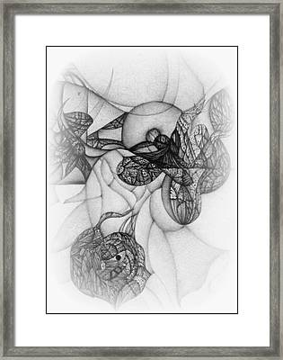 Undesignated Ballpoint Image Number 7 Framed Print by Jack Dillhunt