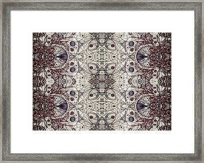 Undesignated Blank Inside Card Framed Print by Jack Dillhunt