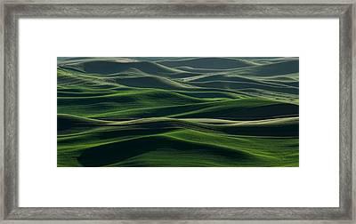 Undulations Framed Print by Don Schwartz