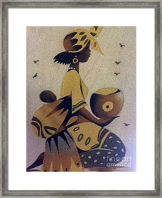 Une Bonne Mere - A Good Mother Framed Print