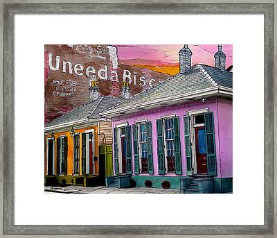 Uneeda Bisquit Building 383 Framed Print by John Boles