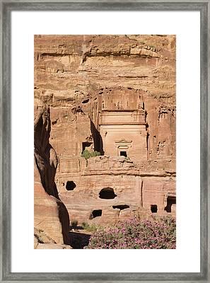 Uneishu Tomb, Petra, Jordan (unesco Framed Print by Keren Su
