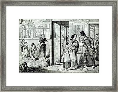 Unemployed Framed Print by British Library