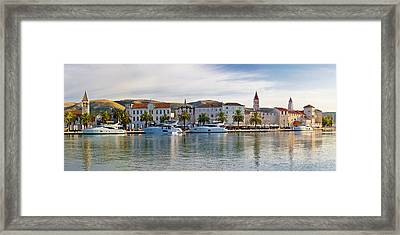 Unesco Town Of Trogit View Framed Print