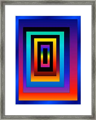 Framed Print featuring the digital art Uneven by Gayle Price Thomas
