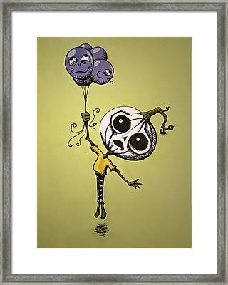 Unexpected Helium Framed Print by Sara Coolidge