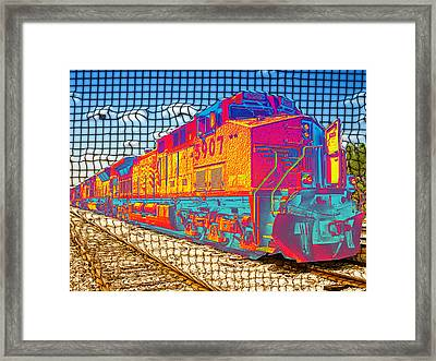 Unexpected Journey Framed Print by Wendy J St Christopher