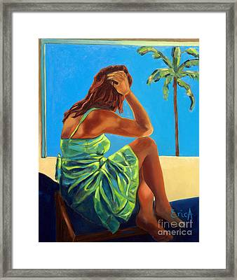 Unexpected Paradise Framed Print by EricA Art