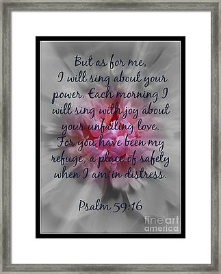 Unfailing Love Framed Print