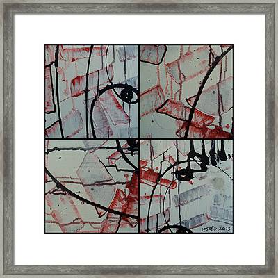 Framed Print featuring the photograph Unfaithful Desire Part One by Sir Josef - Social Critic - ART