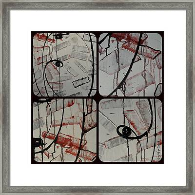 Framed Print featuring the photograph Unfaithful Desire Part Two by Sir Josef - Social Critic - ART