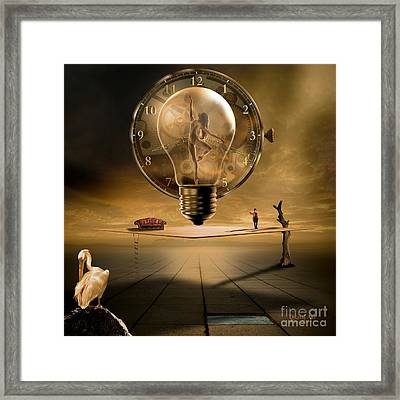 Unfathomable Nature Framed Print by Franziskus Pfleghart