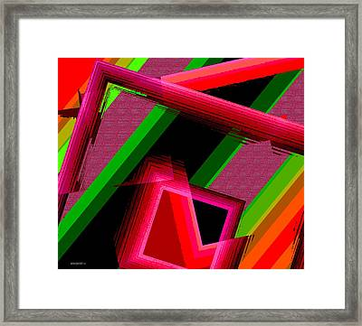 Unfinished Artwork Framed Print by Mario Perez