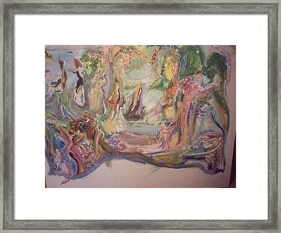 Unfinished As Yet Framed Print by Judith Desrosiers